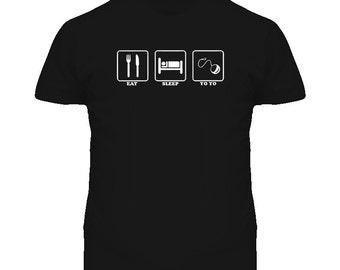 Eat Sleep Yo Yo T Shirt