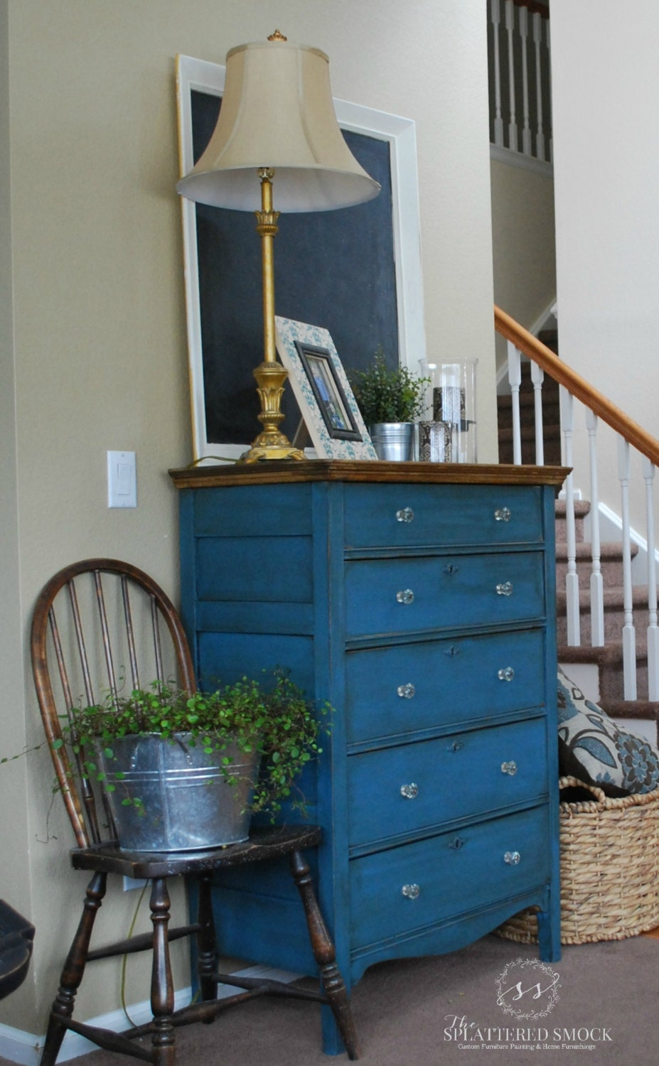 sold beautifully restored antique tallboy by