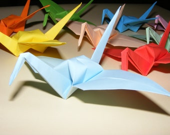 Origami Crane, Set of 1000  Wedding Crane, Origami Crane, Handmade Crane, Wedding Decoration Origami Crane, Origami Wedding, paper crane