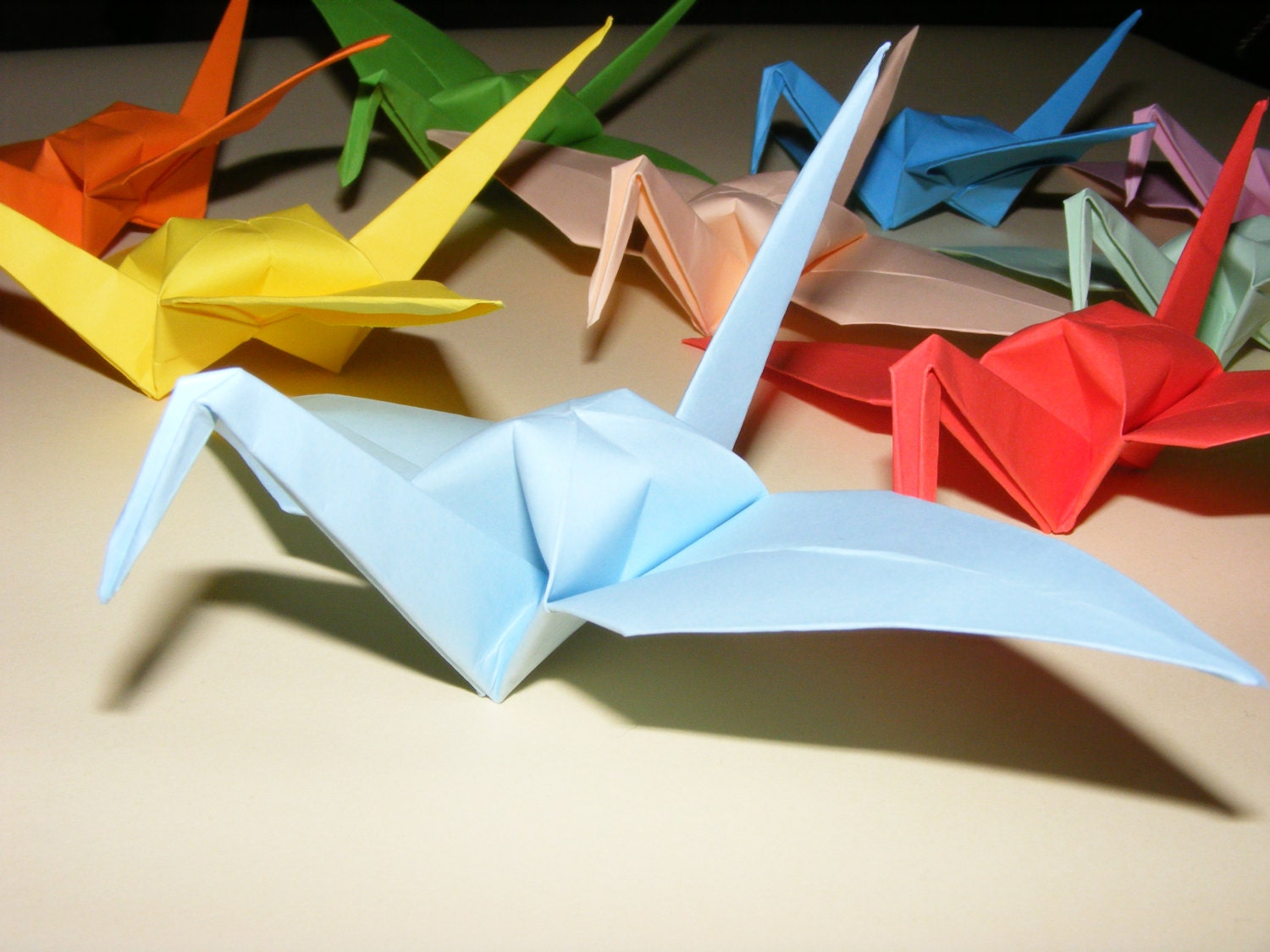 Origami Crane Set Of 1000 Wedding Crane Origami Crane