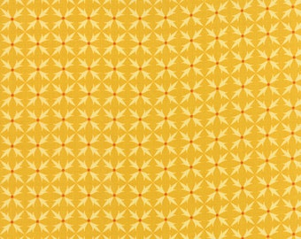 Fancy Fabric from Lily Ashbury for Moda.  Criss Cross Golden Yellow