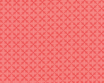 Sale, Fancy Fabric from Lily Ashbury for Moda.  Criss Cross Winter Pink
