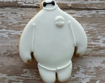 baymax cookie (12 cookies)