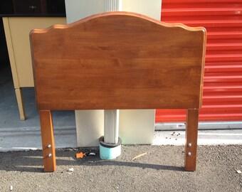Solid Wood Twin Headboard