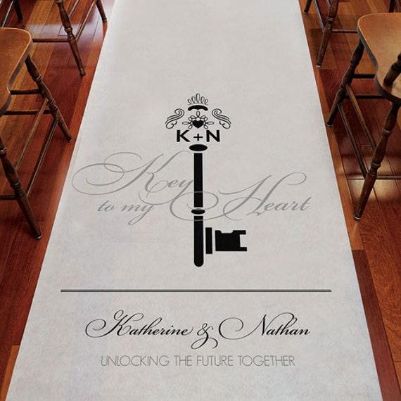 shop classic wedding aisle runners bold monogram runner