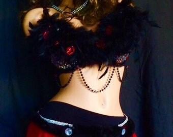 Little red Ridinghood rave costume
