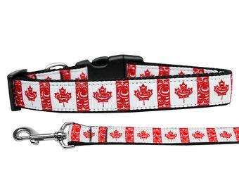 Canadian Dog Collar Etsy