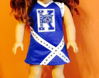 """UK 18"""" doll cheer outfit"""