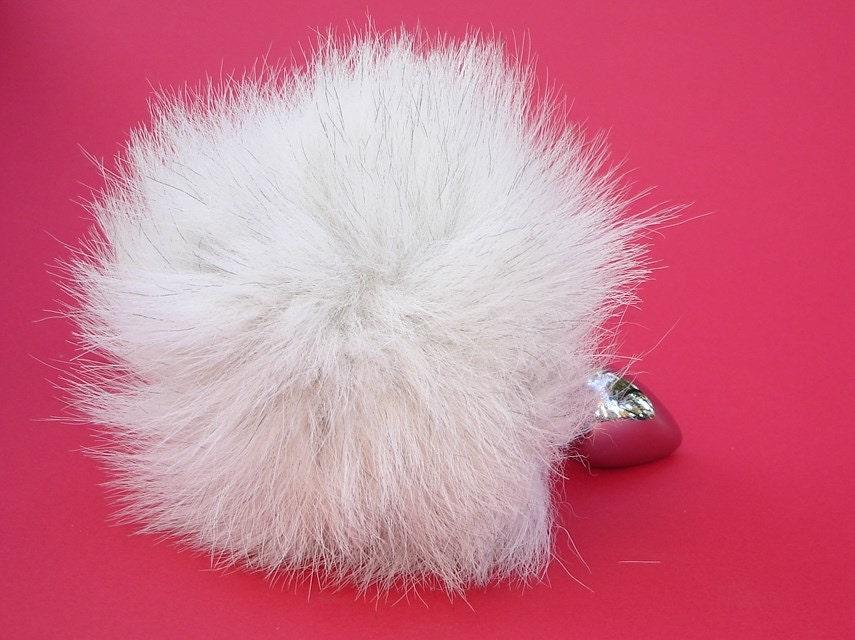 Tail Plug White Fox Bunny Tail Butt Plug Easter By Spankutoys-9976