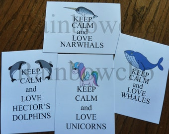 Keep calm and love cards-1 to choose from 4...