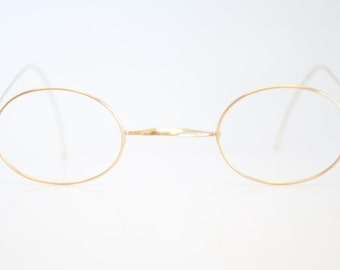 Antique Eyeglasses Antique Gold Glasses by AntiqueEyeglasses