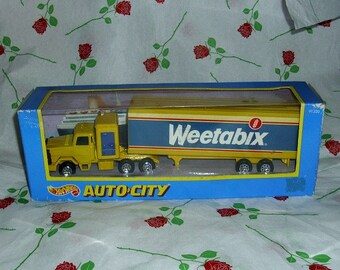 Weetabix Diecast Vehicle Corgi Model Car Articulated Lorry Collectable Advertising Memorabilia Vintage Truck Original Box Breakfast Cereal