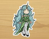 Unicorn Sticker - Monster Girls - Unicorn Girl