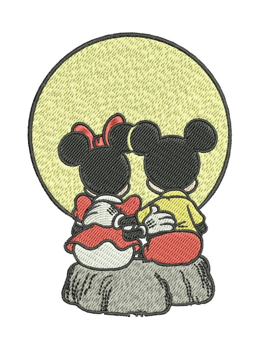 Instant download machine embroidery designs mickey and