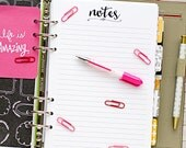 """A5 planner insert printable - notes (measures 5.8""""x8.3"""")"""