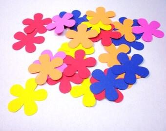 100 Assorted Scrapbook  Flowers-Die Cuts, Scrapbook Supplies, Flowers, Craft Supplies, Supplies-DCF-27