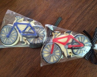 Bicycle Cookies - perfect party cookies!