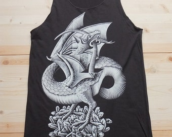 Art Fashion Pop Rock  T-Shirt Vest Tank Top