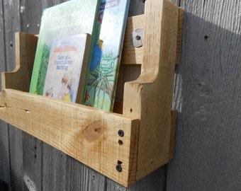 Pallet Book Shelf - Natural