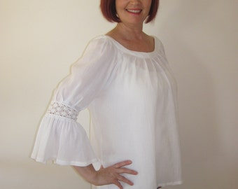 Pure Cotton Cheesecloth Top