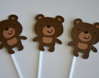Items Similar To Printable Teddy Bear Theme Birthday Party