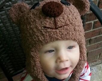 Traditional bear hat.