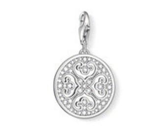 charms argent accessoire autre arabesque,Bracelet Charm,breloques européens,Bracelet européen,pendentif, Style Européen à breloques