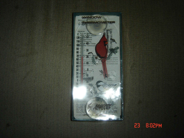 Thermometre de fenetre original aspects cardinal par for Fenetre a cardinal