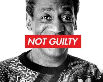 Bill Cosby Not Guilty Shirt Mens
