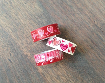 Masking tape set of 3 (W01)
