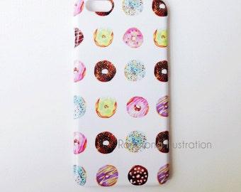 Doughnut iPhone 6s case, iPhone 6s plus case, iPhone 6 Case, iPhone 6 Plus Case, iPhone 5S Case, iPhone Case, iPhone 5C Case