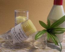 Fragrant Tobacco and Bay Leaf Solid Lotion Bar - 'Bernard'