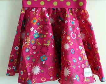 Little girls Full twirly skirt, size 6-12mths