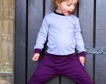 MBJM Harem Pants Prem./Small Newborn - Age 12 sewing pattern