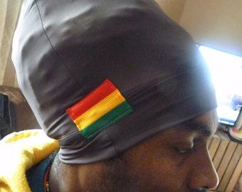 Royalnatty Rasta headwrap boboshanti Sizzla Nyabinghi Rasta tam dark grey