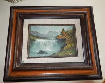ORIGINAL OIL PAINTING signed Walford