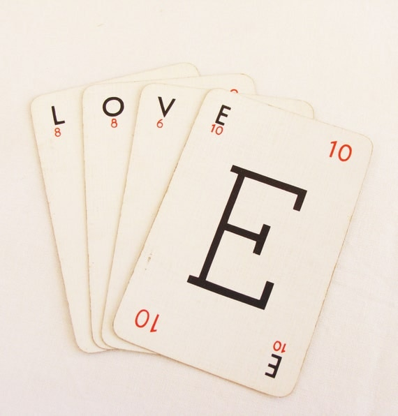 Love Letters Playing Cards Lexicon Game