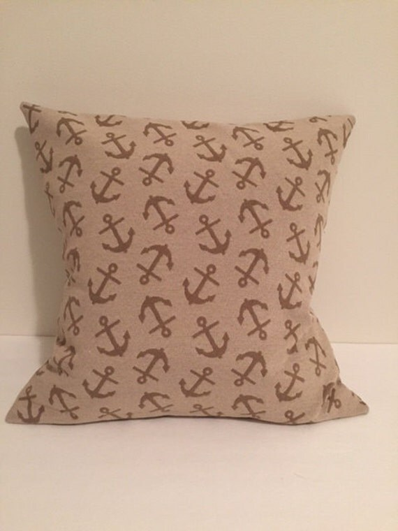Nautical Pillows, Anchor Pillows, Nautical throw pillows, Anchor throw pillows, Nautical theme ...