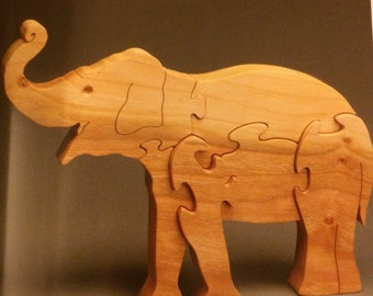 Elephant Puzzle Oak