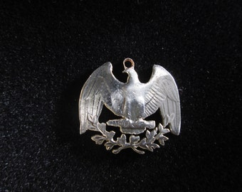 Eagle Quarter Cut Coin, Necklace, Pendant, Liberty, USA, America