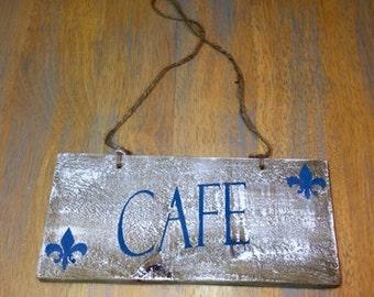 Cafe Plaque