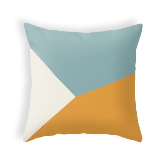 Mid Century Pillow Covers : SET OF 2 Pillow covers. Mid century geometric pillow by LatteHome