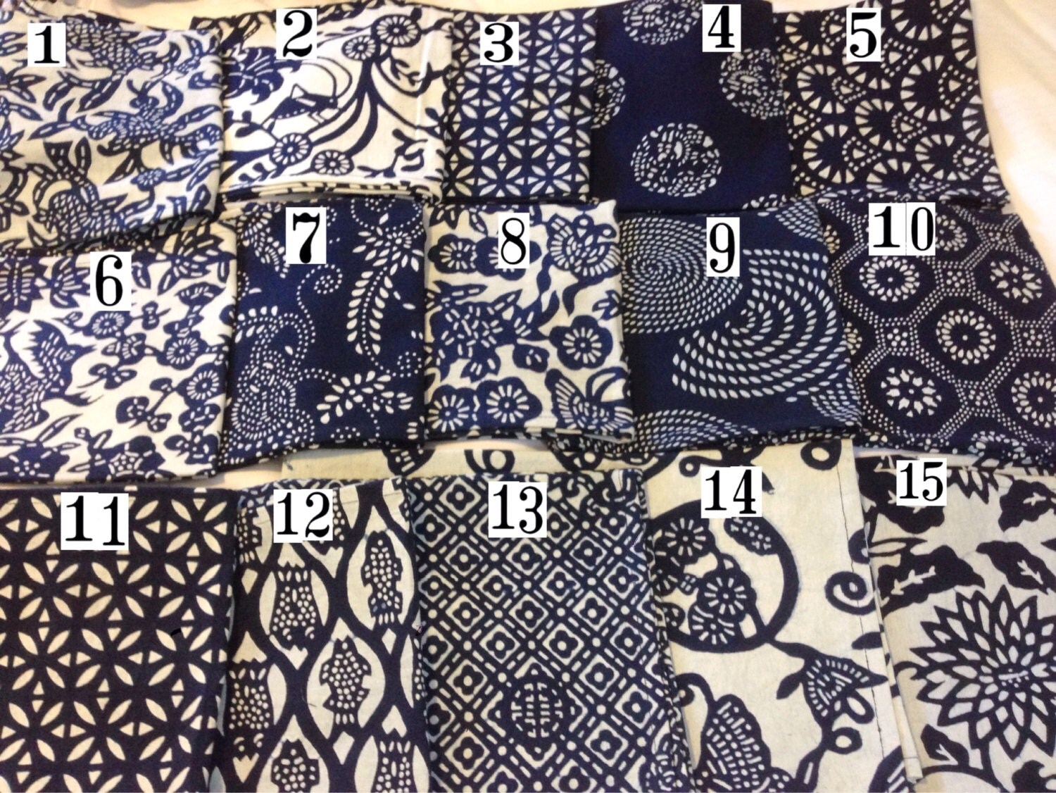 Fabric sewing fabric fabric by the yard nankeen blue and for Sewing fabric by the yard