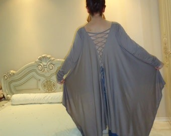 Oversize T-Shirt blouse tunic TOP/Asymmetrical tunic extravagant top/Elegant tunic top dress/Asymmetrical tunic top blouse/sizes Us Uk Eu