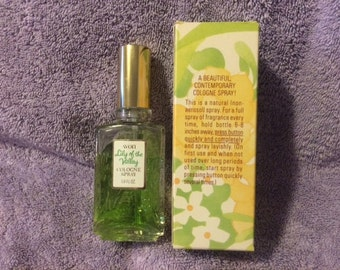 Vintage Avon Lily of the Valley Cologne Spray 1.8 oz New in Box Rare