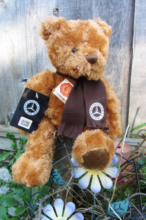 Vintage mercedes benz collection classic selection brown teddy for Mercedes benz bear