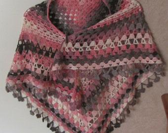 nice crochet stole,shawl