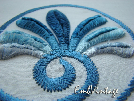 Machine embroidery design velvet swirl instant by embvintage