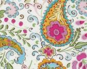 Pink Paisley Fabric by Dena Designs of Free Spirit