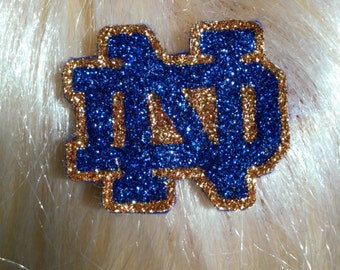 Notre Dame barrettes #1 and #2